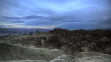 Zabriskie Point Timelapse Sunrise