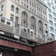 Elevated train in Chicago - 图库照片