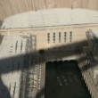 Mid-aerial view of the Hoover Dam - Stock Photo