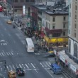Stock Video: Traffic at sunset on 8th Ave