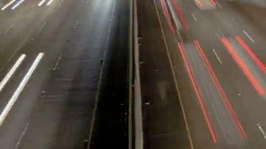 Highway Traffic at Night — Stock Video #22629121