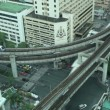 Stock Video: Bangkok Aerial Traffic