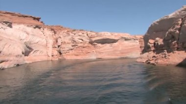 Canyon Lake Powell Glen — 图库视频影像