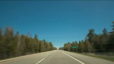 Hyperlapse Highway Drive — Wideo stockowe