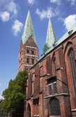 Luebeck Marien-Church — Stock Photo