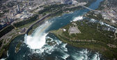 Aerial Niagara Falls — Stock Photo