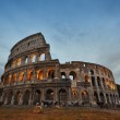 Colosseum in Rome, Italy during sunset — Stock Photo #45001153