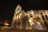 Colosseum in Rome, Italy in the night — Stock Photo