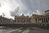 View on the Basilica of St. Peter — Stock Photo