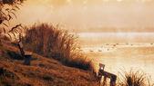 Beautiful norwegian landscape with lake — Stock Photo