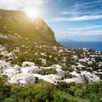 Mediterranean seaside town — Stock Photo