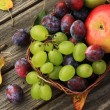 Close up of healthy fruit — Stock Photo