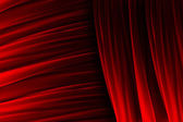 Red curtain texture with lights effects — Stock Photo