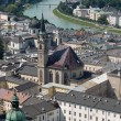 Salzburg view in summer - Stock Photo