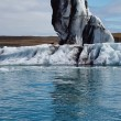 Stock Photo: Icebergs floating at Jokulsarlon