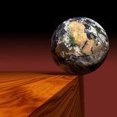 Precarious earth — Stock Photo