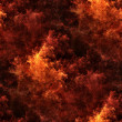 Stock Photo: Seamless tileable fire pattern