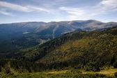 Beautiful views of the Carpathian Mountains — Stock Photo