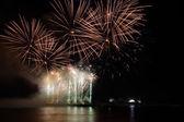Festival fireworks in Kiev — Stock Photo