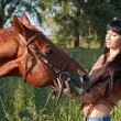 Horsewoman — Stock Photo #21066623