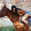 Horsewoman — Stock Photo #21066697