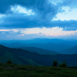 Carpathians in the summer — Stock Photo
