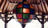 Multicolored latern — Stock Photo