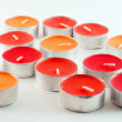 Stock Photo: Colored candles