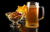 Beer set — Stock Photo