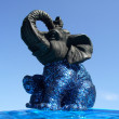 Elephant - decorative figurine - Stock Photo