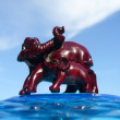 Elephants - decorative figurines - Photo