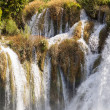 Waterfall on Krka river — Stock Photo