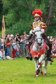 Caballero con una espada — Foto de Stock