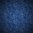 Blue seamless background with stars. — Imagens vectoriais em stock