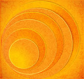 Orange Circles abstract vector background — Stockvektor