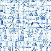 Back to school pen sketch — Stock Vector