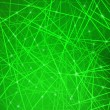 Abstract green background. — Vektorgrafik