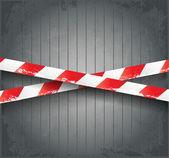 Ve věku nebezpečí pásky — Stock vektor