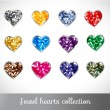 Vector jewel collection — Stock Vector