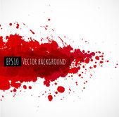 Big dark red splash — Stock Vector