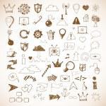Web design icons — Stock Vector