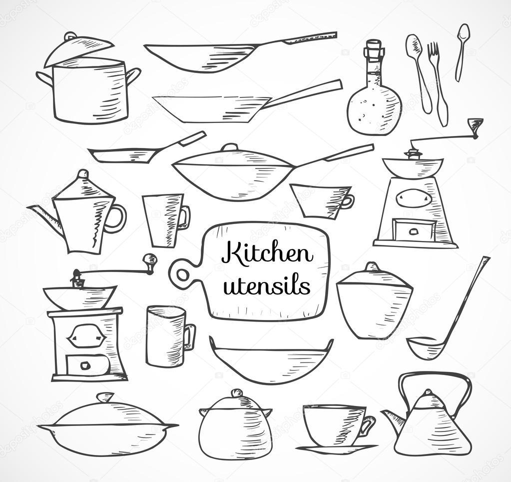 кухонные эскизы: