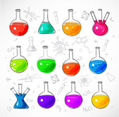 Chemical objects — Stock Vector