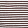 Brown-white striped canvas background - Stock Photo
