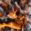 Royalty-Free Stock Photo: Burning embers