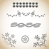 Set ornament — Stock Vector