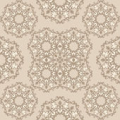 Pattern with ornament — Stock Vector