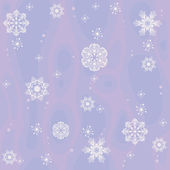 Seamless pattern with openwork snowflakes — Stock Vector