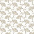 Seamless vintage decorative floral background — Stock Vector