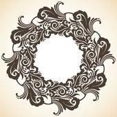 Christmas wreath — Stock Vector